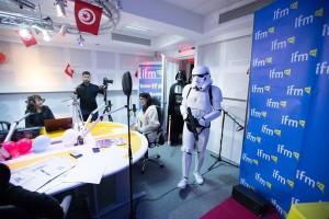 la sortie de Star Wars à Alger