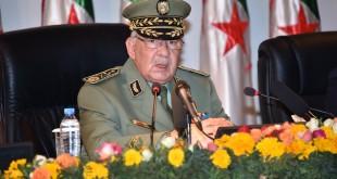 dernèir info algérie Gaid Salah