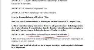 dernières infos Algerie: