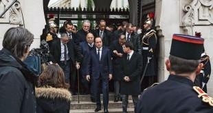 Hollande à la Grande mosquée de Paris