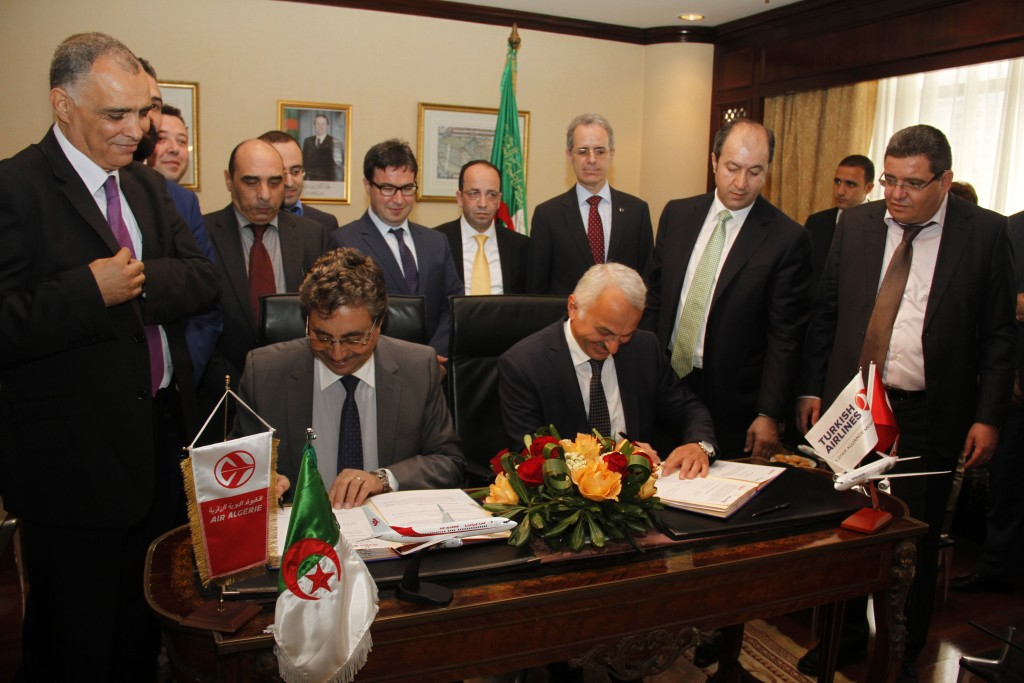 signature-de-l-accord-codeshare-entre-Air-Algerie-et-Turkish-Airlines