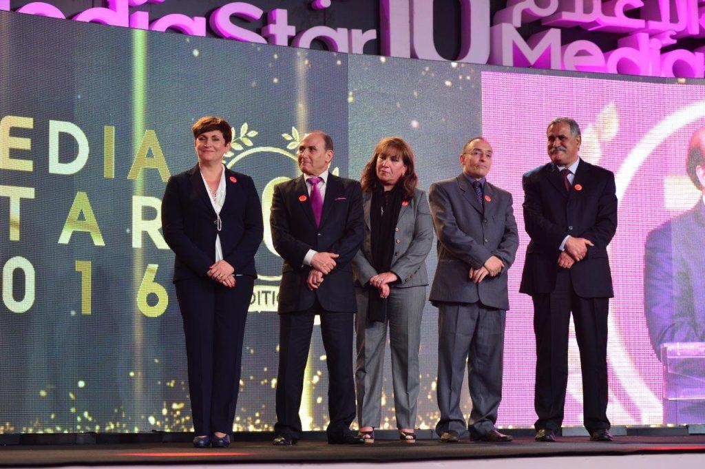 Membres du jury Media Star 2016