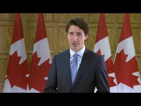 DIA- Justin Trudeau AID