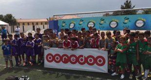 DIA-Ooredoo aux cotés des jeunes footballeurs algériens