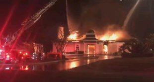 DIA-Centre victoria incendié