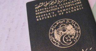 DIA-Passeport algérien
