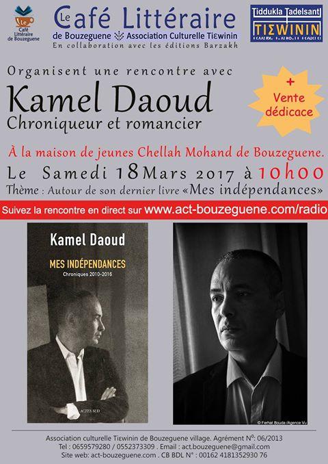 DIA-KAMEL dAOUD CONFE