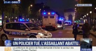 DIA-ATTENTAT A PARIS