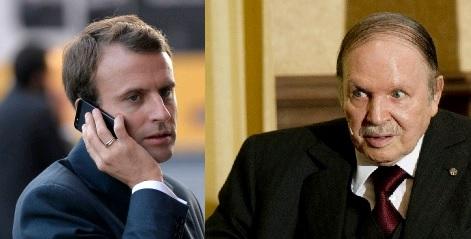 DIA-Macron Bouteflika