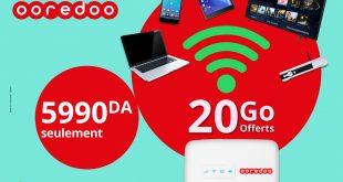 DIA-Modem 4G de Ooredoo