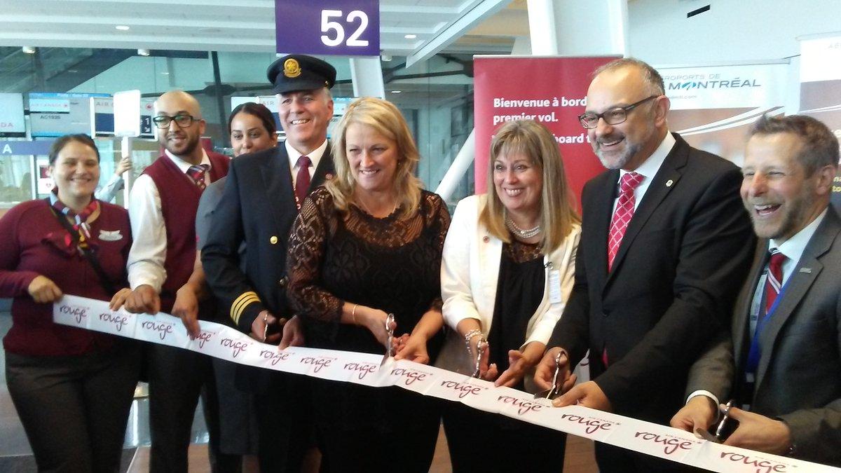 Air Canada inaugure le vol sans escale Montreal-Alger