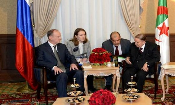 DIA-Bouteflika Russie
