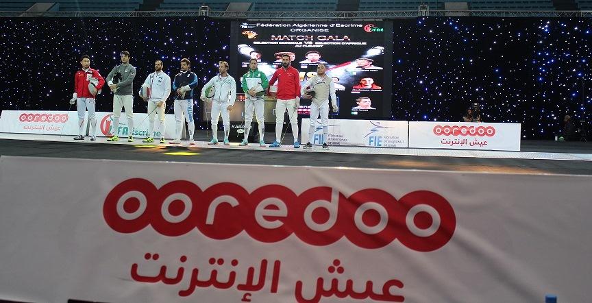 Photo Ooredoo Partenaire de la Coupe du monde du fleuret féminin