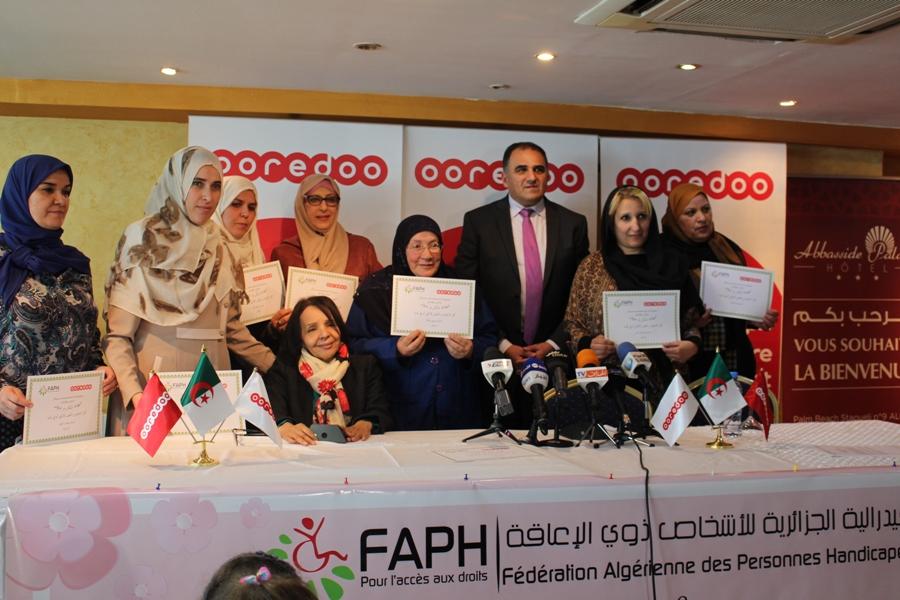 DIA-La FAPH et Ooredoo célèbrent la Journée Internationale de la Femme