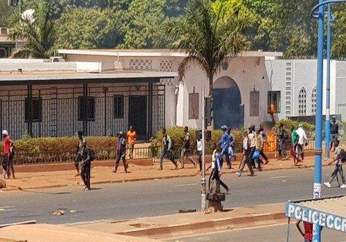 DIA-Manifestants malien