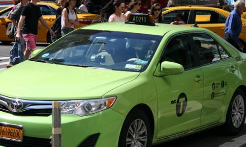 DIA-taxis-verts-de-new-yorK