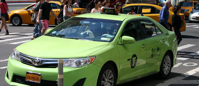 DIA-taxis-verts-de-new-yorK