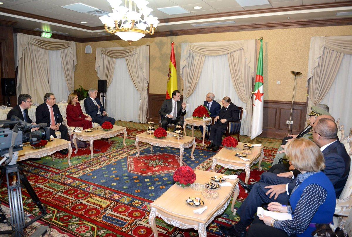 Diplomatie énergétique — Rajoy à Alger