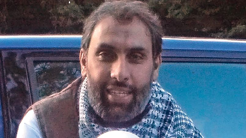 Rex Features Ltd. do not claim any Copyright or License of the attached image Mandatory Credit: Photo by REX (4375296d) Djamel Beghal Djamel Beghal, said to be the mentor of Cherif Kouachi, one of the Charlie Hebdo Massacre Gunmen - 2015 Djamel Beghal, 50, who was accused of being Osama BIn Laden's main European recruiter and is said  to have mentored Cherif Kouachi, one of the two Islamic terrorists who carried out the Charlie Hebdo massacre in Paris, killing twelve people. Kouachi was secretely photographed by French intelligence meeting Beghal while he was under house arrest in Murat in central France in April 2010 along with two other convicted terrorists, jihadi recruiter Ahmed Laidouni and Algerian Armed Islamic Group member Farid Melouk. Beghal attended hate cleric Abu Qatada's prayer meetings in London and the Finsbury Park mosque when Abu Hamza was present. Beghal allegedly recruited shoe bomber Richard Reid and 9/11 hijacker Zacarias Moussaoui at the mosque. /Rex_Djamel_Beghal_said_to_be_the_mentor_of_Cherif_K_4375296D/Rex Features Ltd. do not claim any Copyright or License of the attached image/1501101200