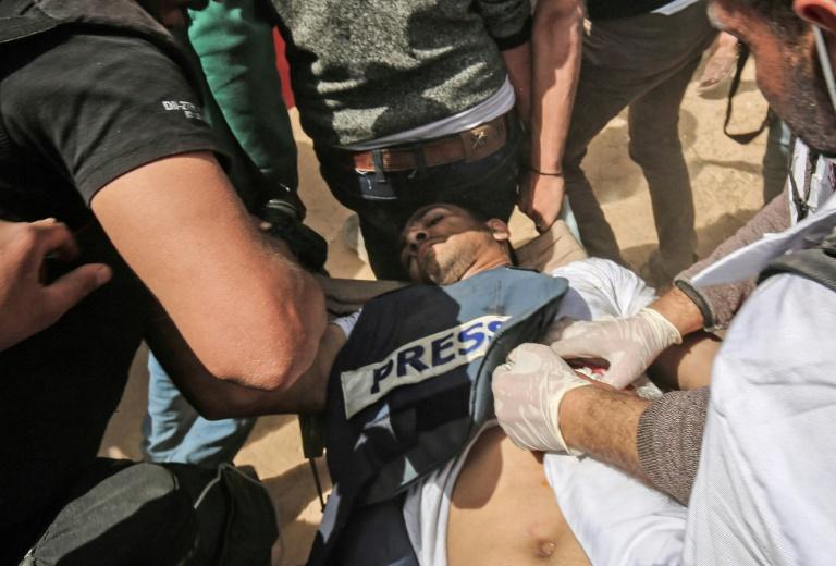 DIA-Palestinien journaliste
