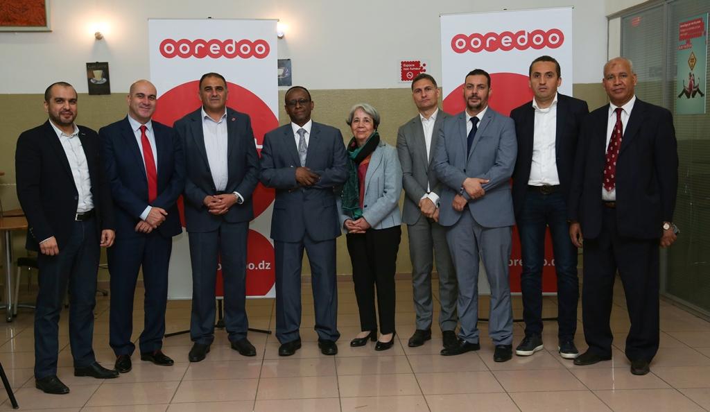 DIA-Les representants de Ooredoo et du CRA
