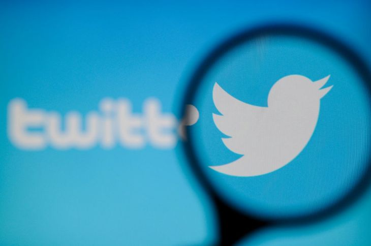 A Twitter logo is seen on a computer screen on November 20, 2017. (Photo by Jaap Arriens/NurPhoto via Getty Images)