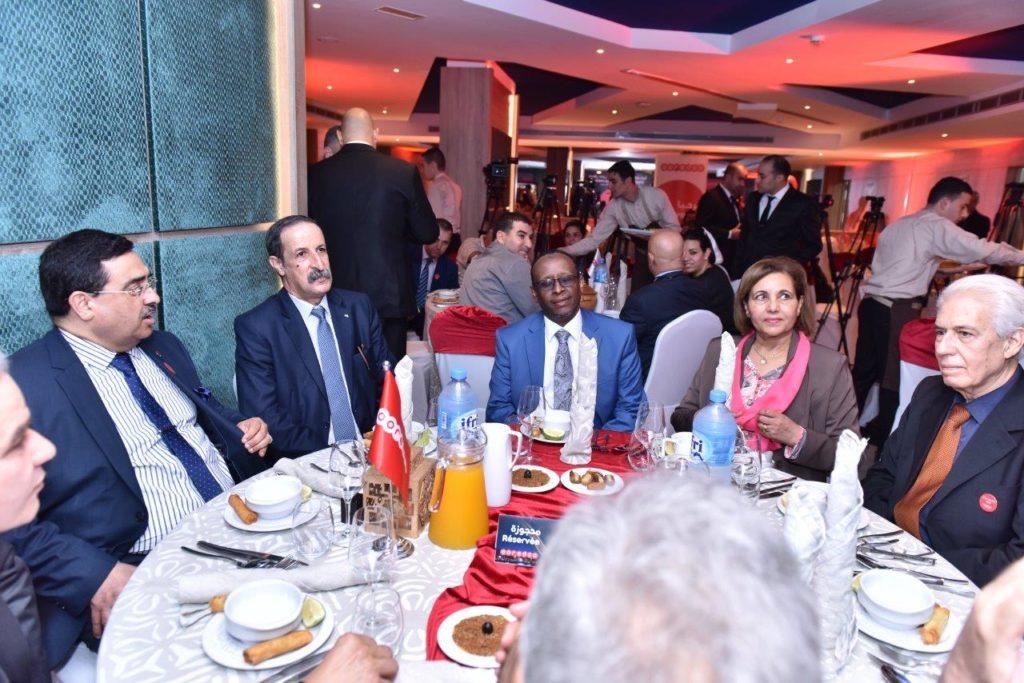 DIA-Ooredoo en l'honneur de ses partenaires médias