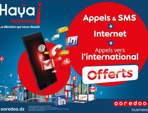 DIA-Ooredoo enrichit ses offres Haya! Business