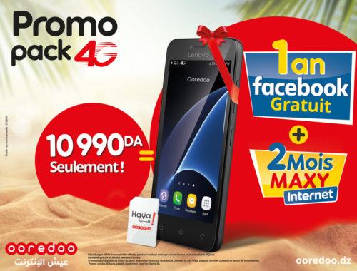 DIA-Ooredoo lance sa promo Pack 4G