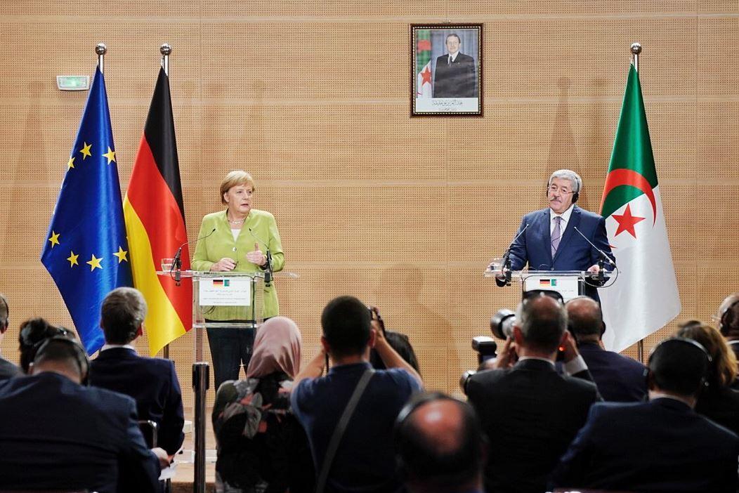 DIA-Ouyahia Merkel