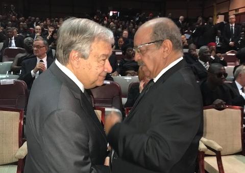 Messahel et SG ONU