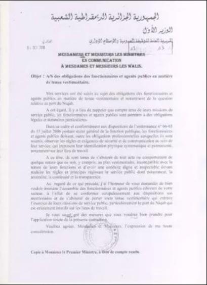 #niquab_algerie_interdiction