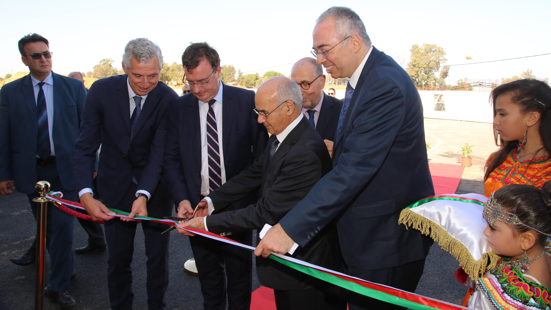 Inauguration Sanofi alger