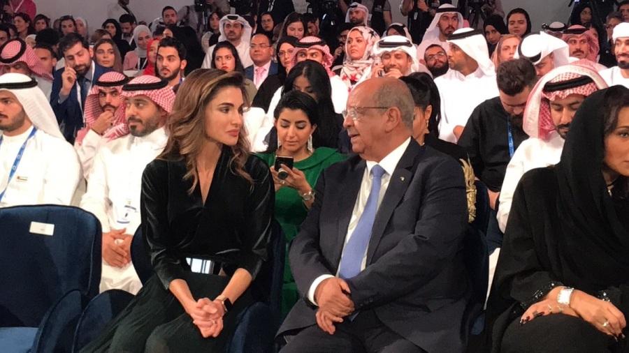 DIA-Messahel et la reine Rania