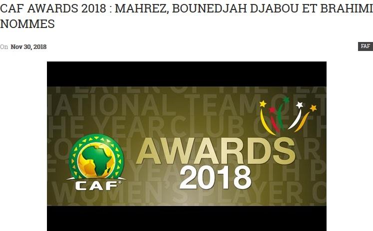 FAF CAF
