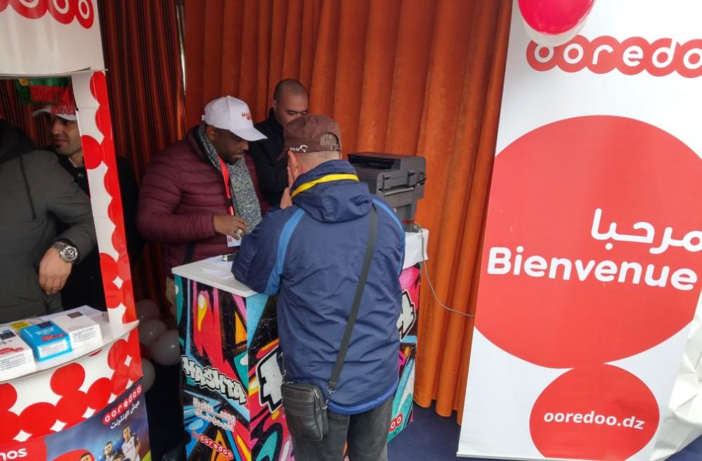 Photo - Ooredoo partenaire des festivités de Yennayer à Sétif