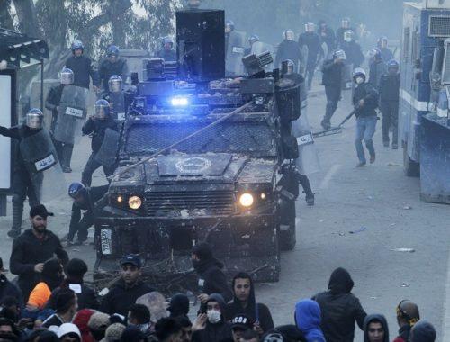 POLICE MANIFESTATION