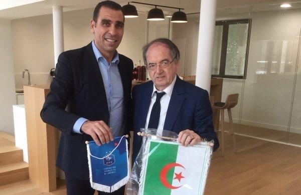 Le président de la FFF, Noël Le Graët accuse l'Etat algérien de bloquer le match Algérie-France