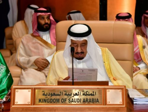 DIA-Roi d'Arabie Saoudite