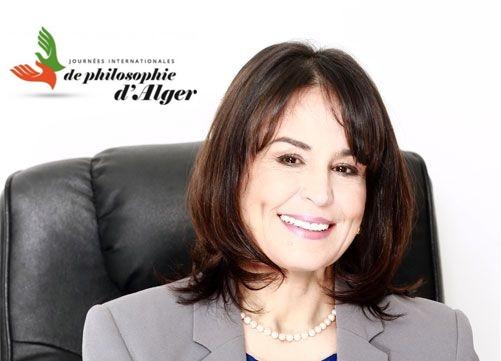 Razika Adnani - Présidente des Journées Internationales d'Alger