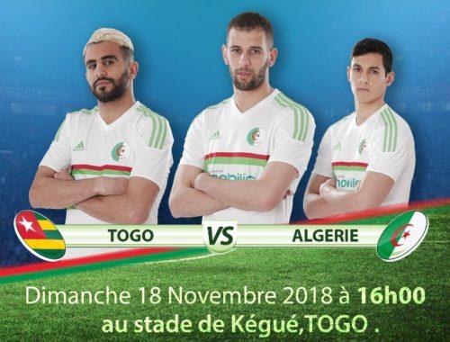 Match Togo Vs Algérie Fr photo